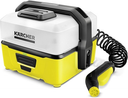 Hidrolimpiadora portátil con depósito de agua Karcher Mobile Outdoor Cleaner OC 3