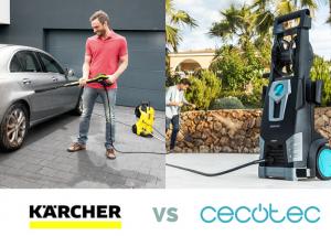 Comparativa Hidrolimpiadoras Karcher vs Hidrolimpiadoras Cecotec