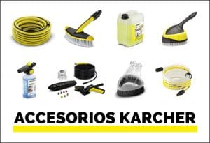Accesorios Karcher para hidrolimpiadoras