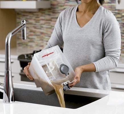 Depósito lava aspiradora